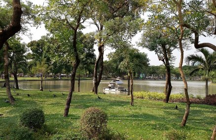 Chatuchak Park Lake. Credit: Roy Kabanlit