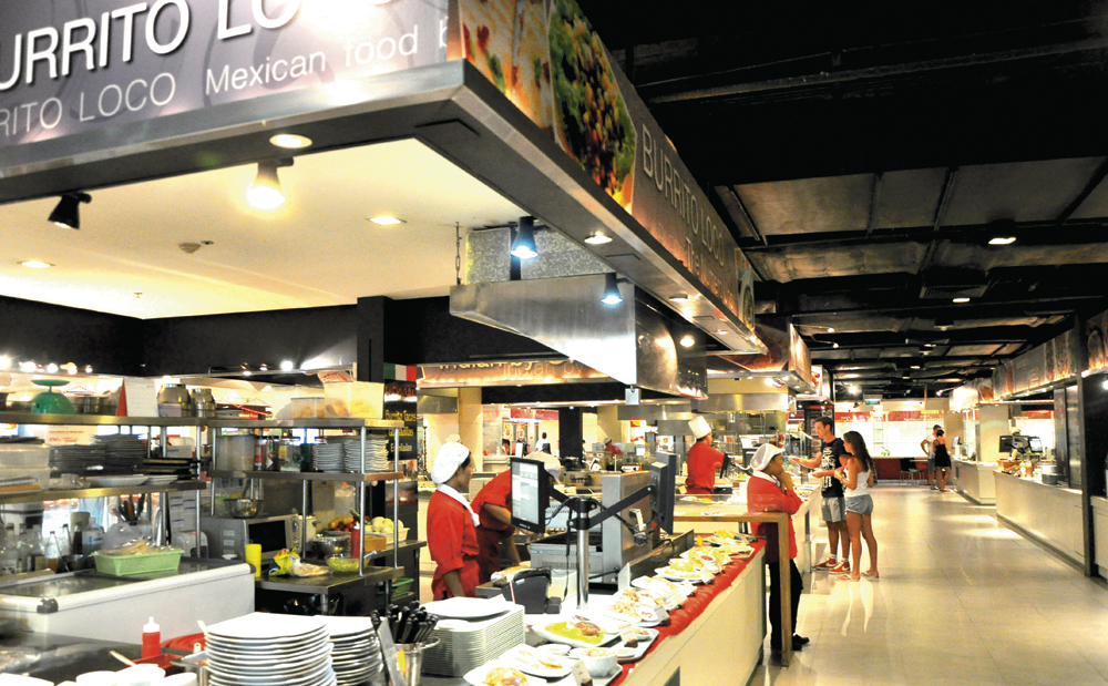 Cheap Fast Food In Mall Of Asia
