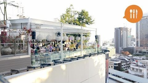 Embedded thumbnail for New rooftop bar brings the beach to Bangkok